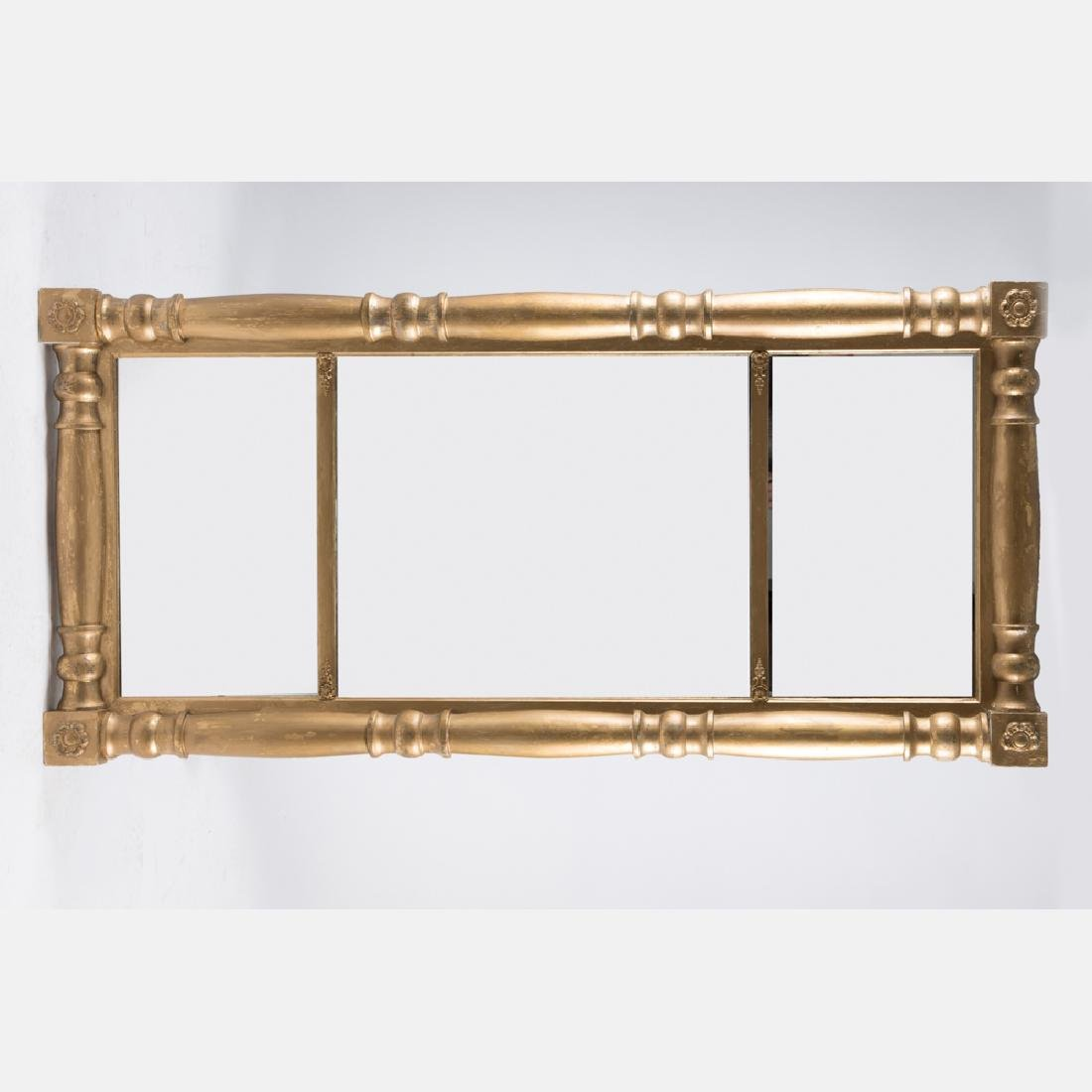 An American Federal Style Gilt Framed Mirror, 19th