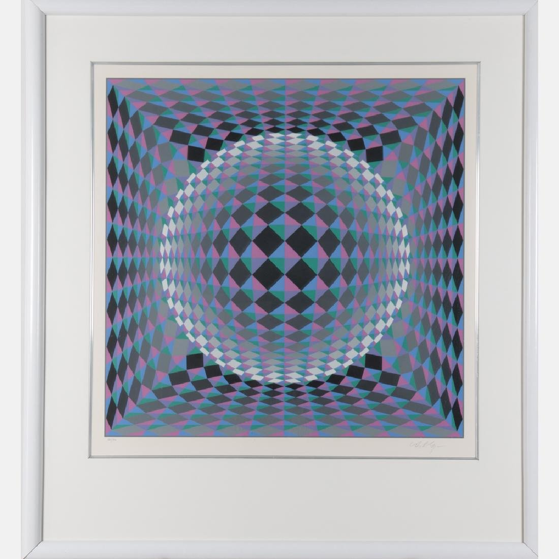 Victor Vasarely (1906-1997) Geometric Circle, - 2