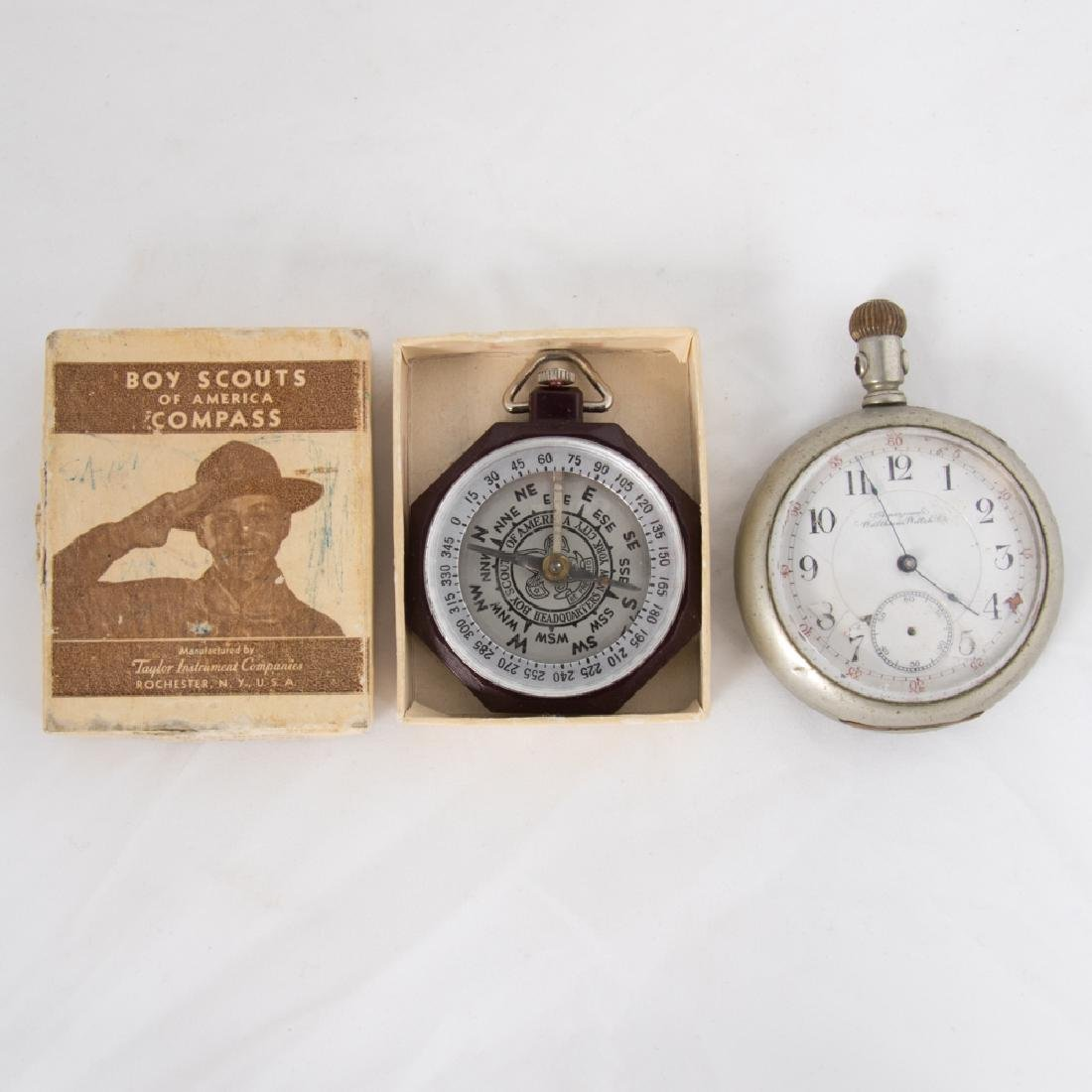 An American Waltham 17 Jewel Pocket Watch, 20th