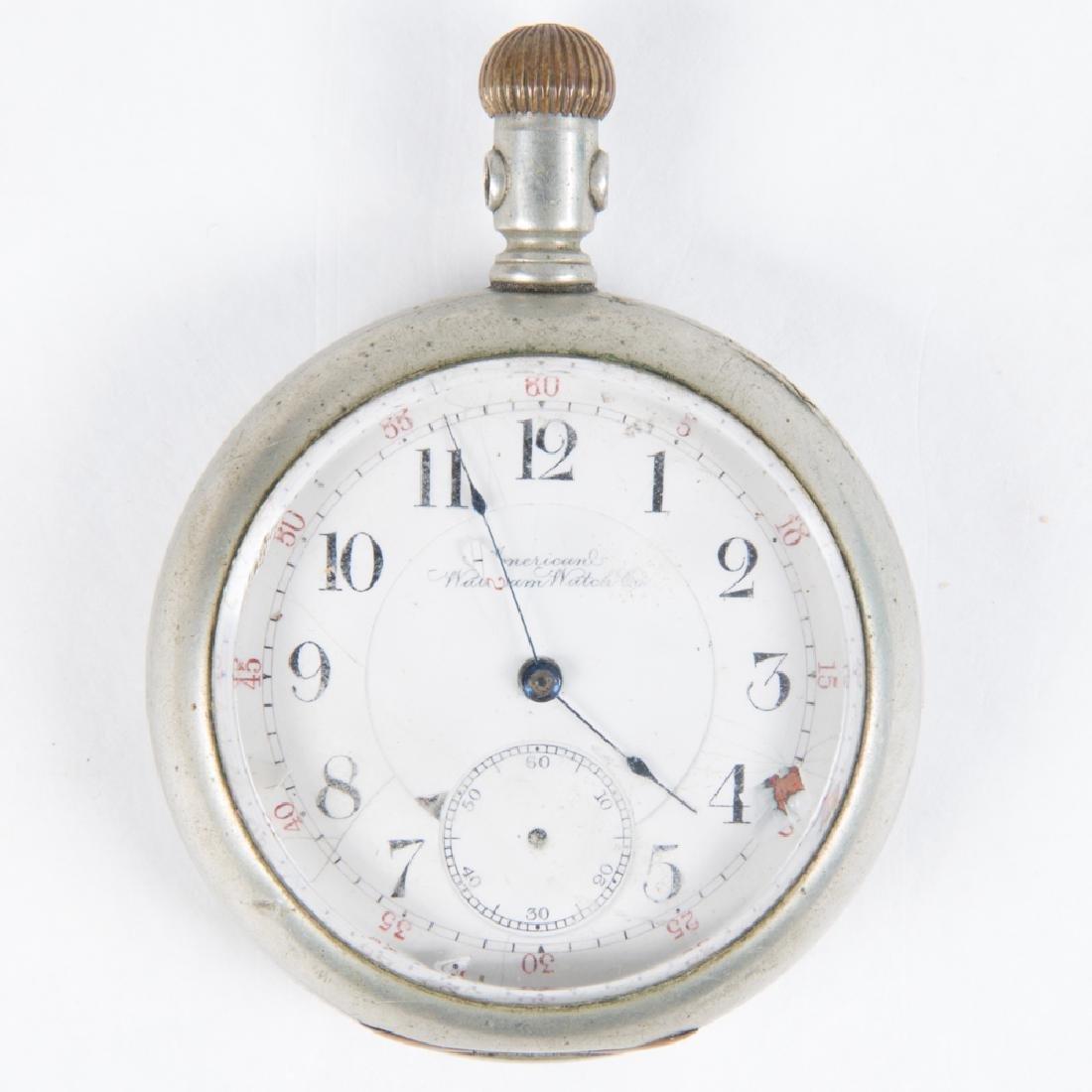 An American Waltham 17 Jewel Pocket Watch, 20th - 2