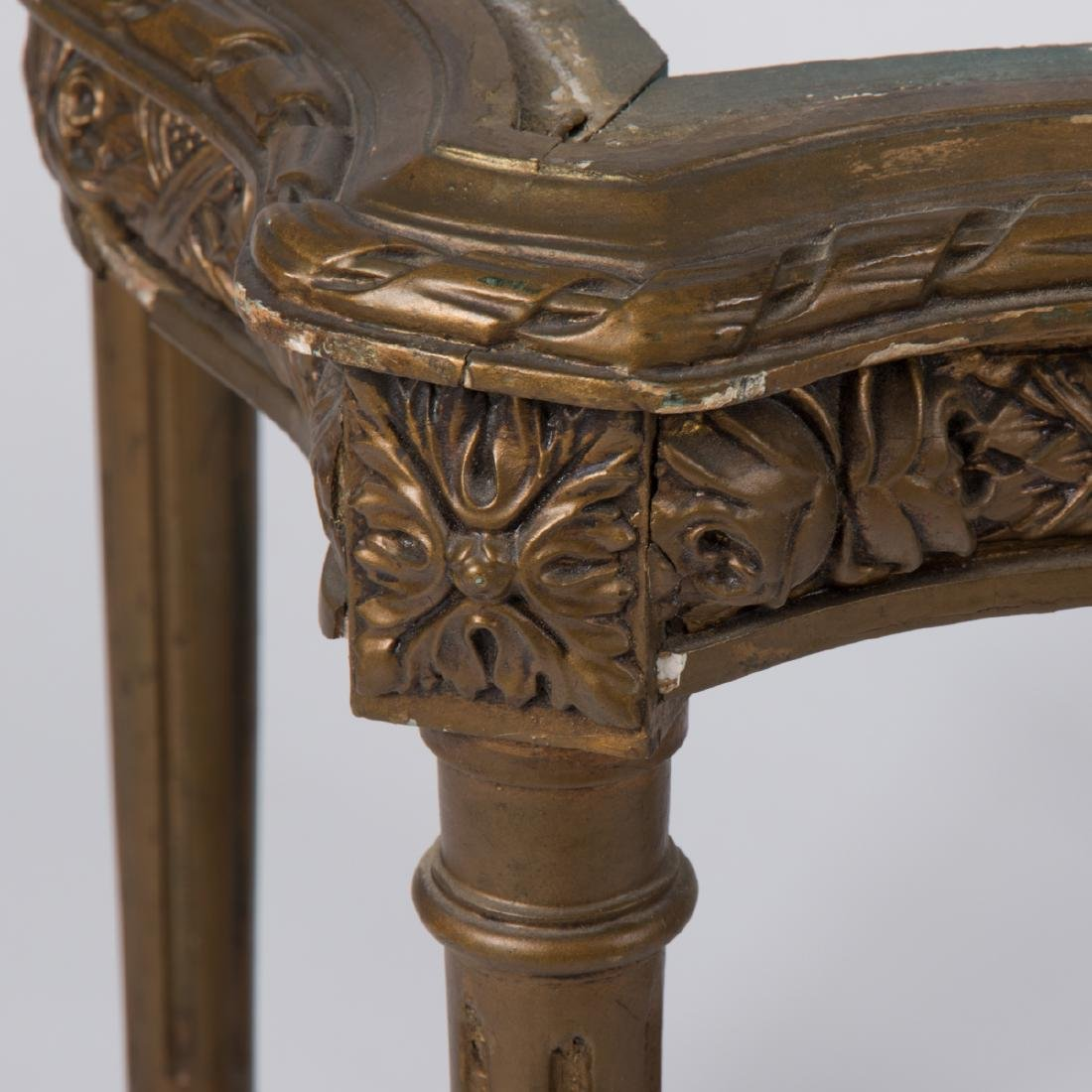 Two Louis XVI Style Giltwood Side Tables, 20th Century. - 2