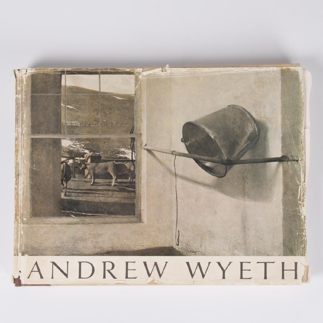 MERYMAN, Richard (1926-2015). Andrew Wyeth. Boston: