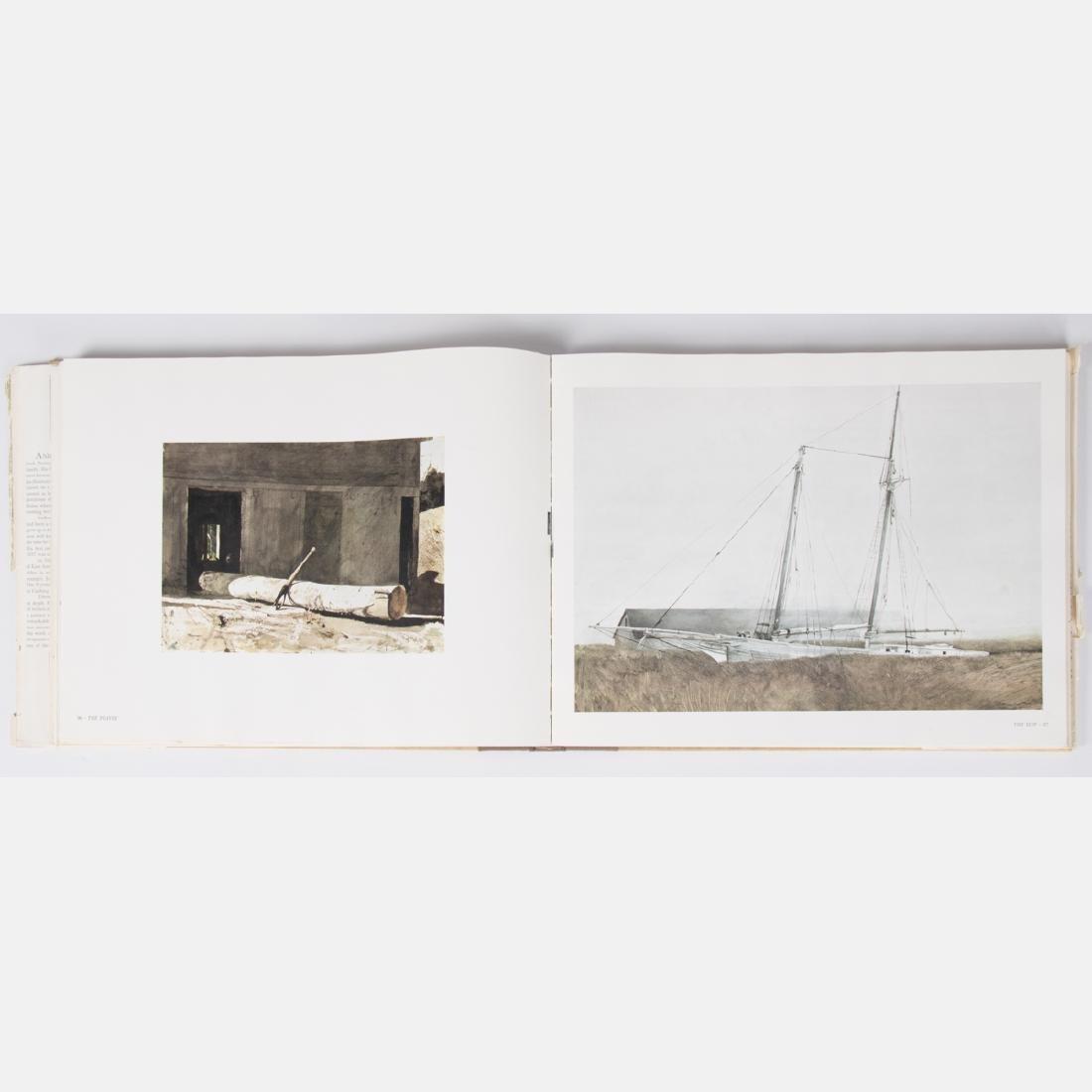 MERYMAN, Richard (1926-2015). Andrew Wyeth. Boston: - 3