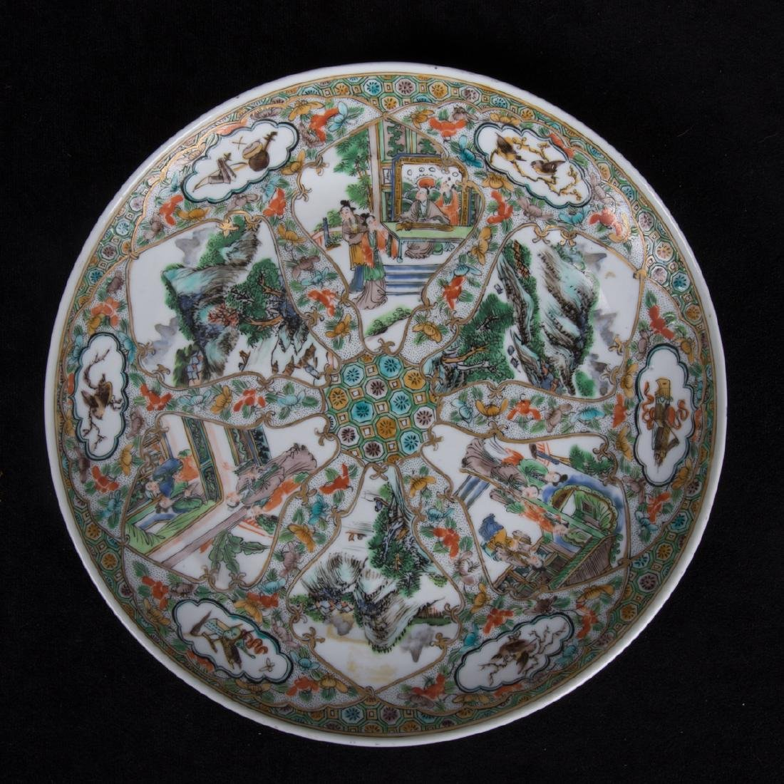 A Group of Three Chinese Rose Medallion Porcelain - 3