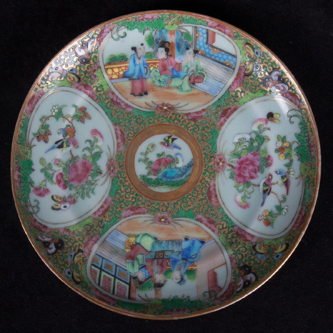 A Group of Three Chinese Rose Medallion Porcelain - 7