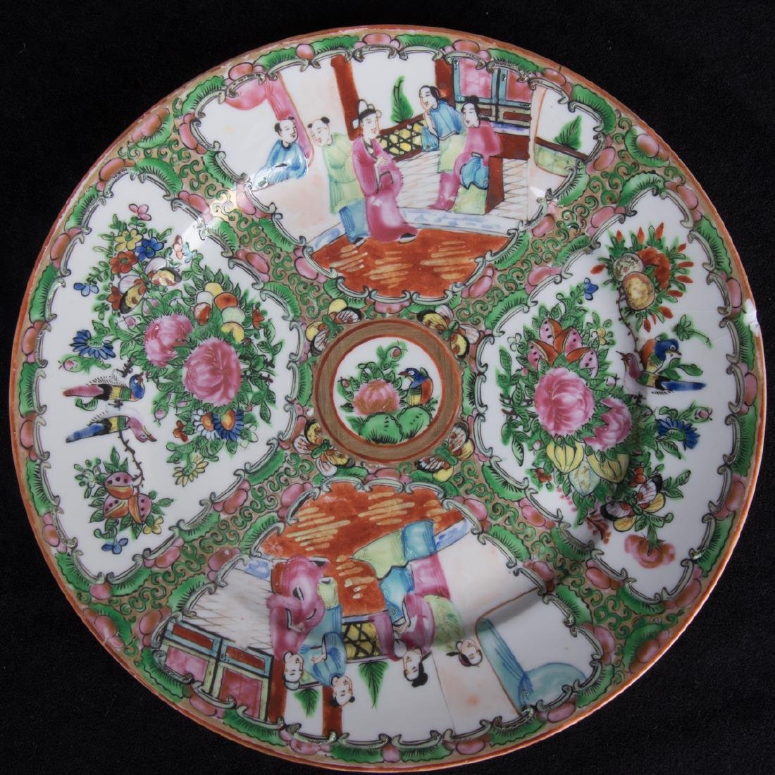 A Group of Twenty Chinese Rose Medallion Porcelain - 3