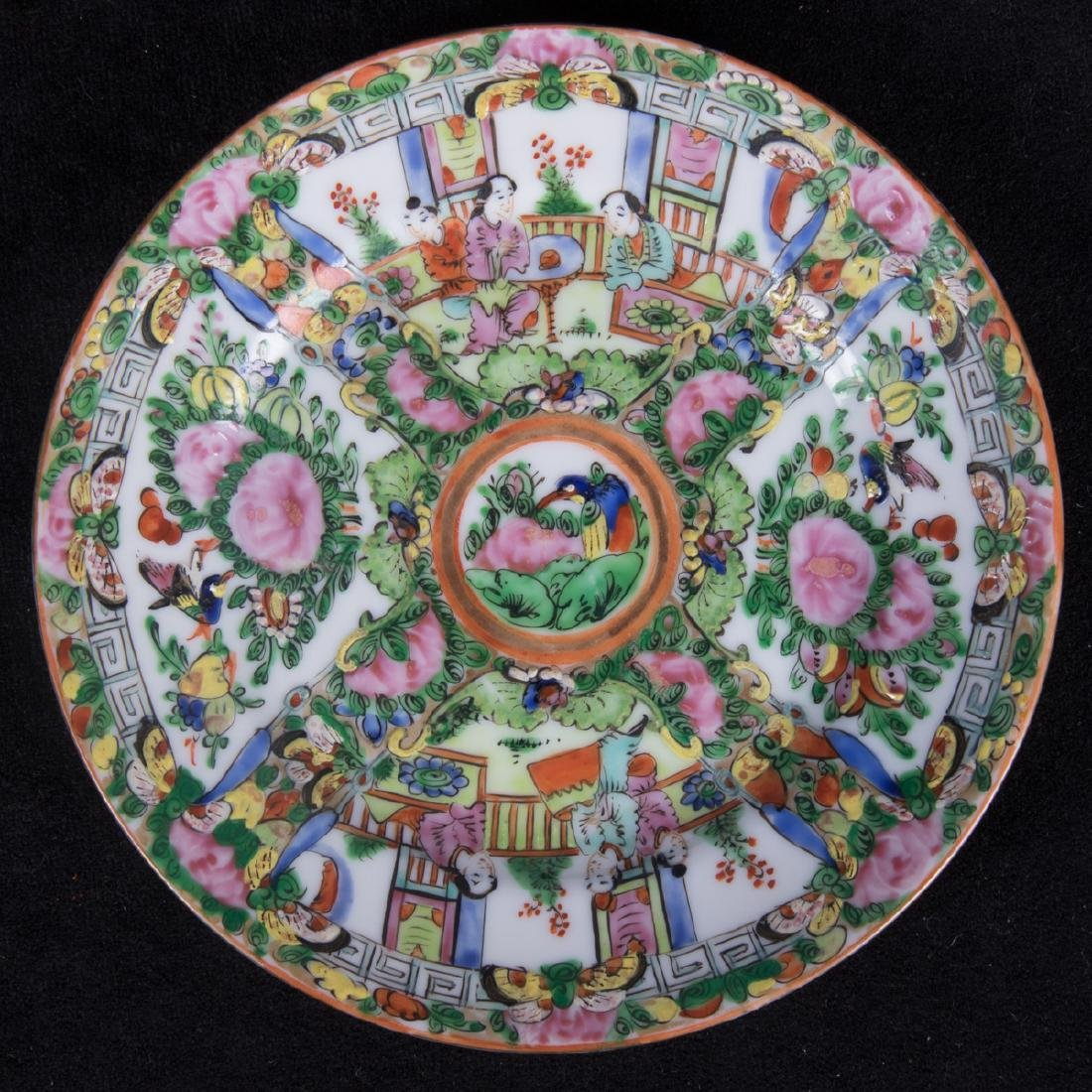 A Group of Twenty Chinese Rose Medallion Porcelain - 5