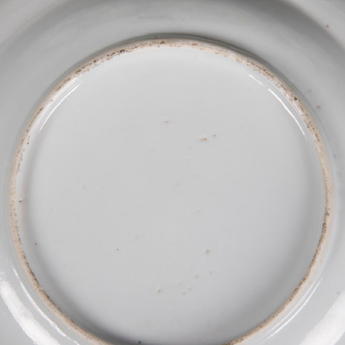 A Group of Four Chinese Famille Rose Porcelain Plates, - 4