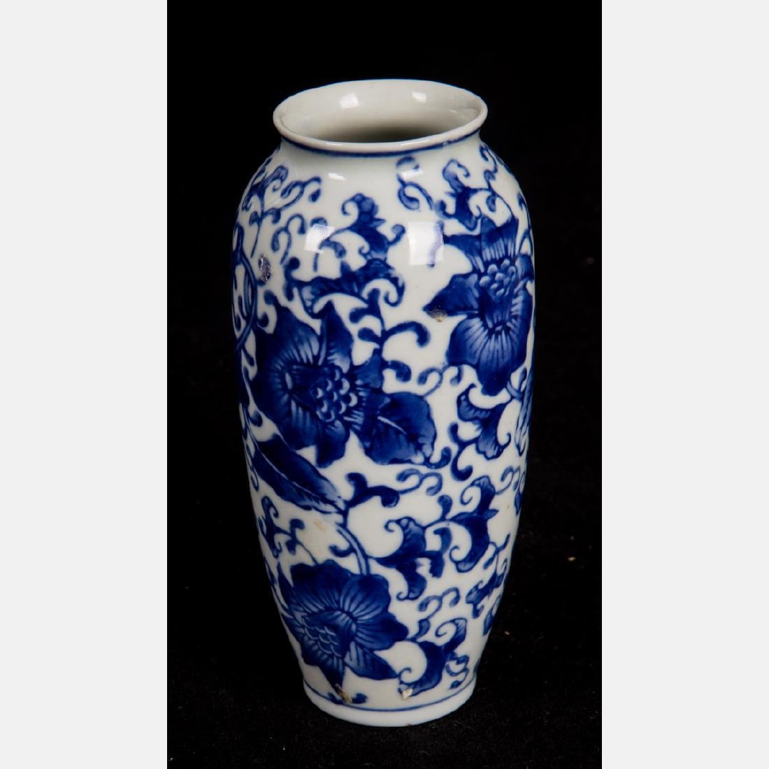 A Group of Six Asian Porcelain Vases, 20th Century, - 10