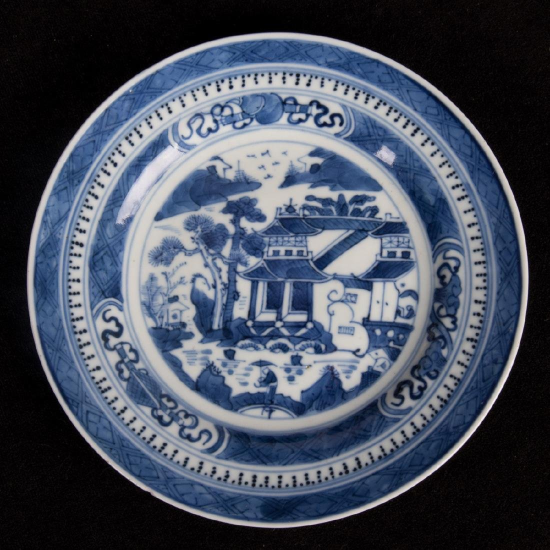 A Group of Four Chinese Export Blue and White Porcelain - 4