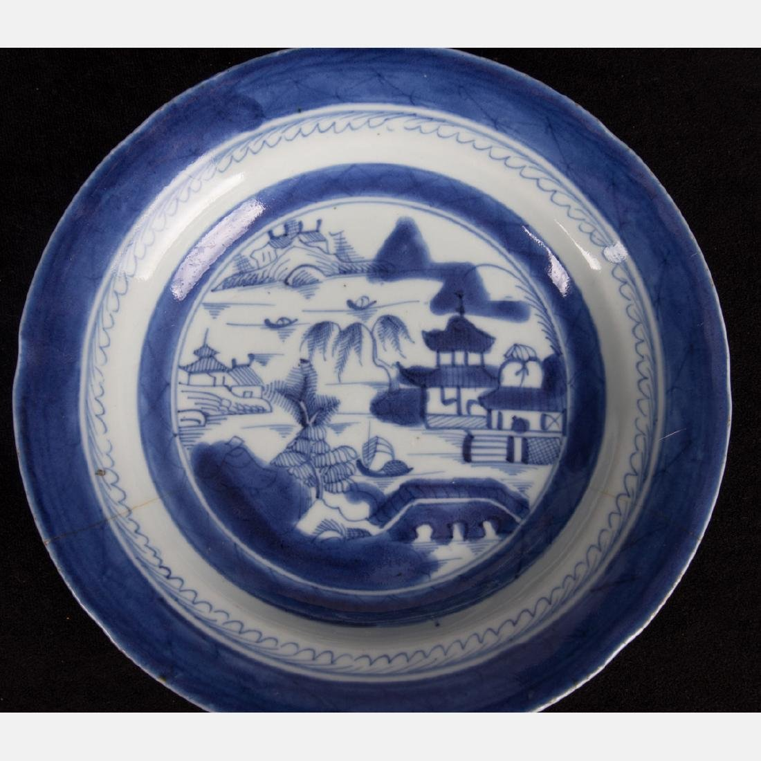 A Group of Four Chinese Export Blue and White Porcelain - 6