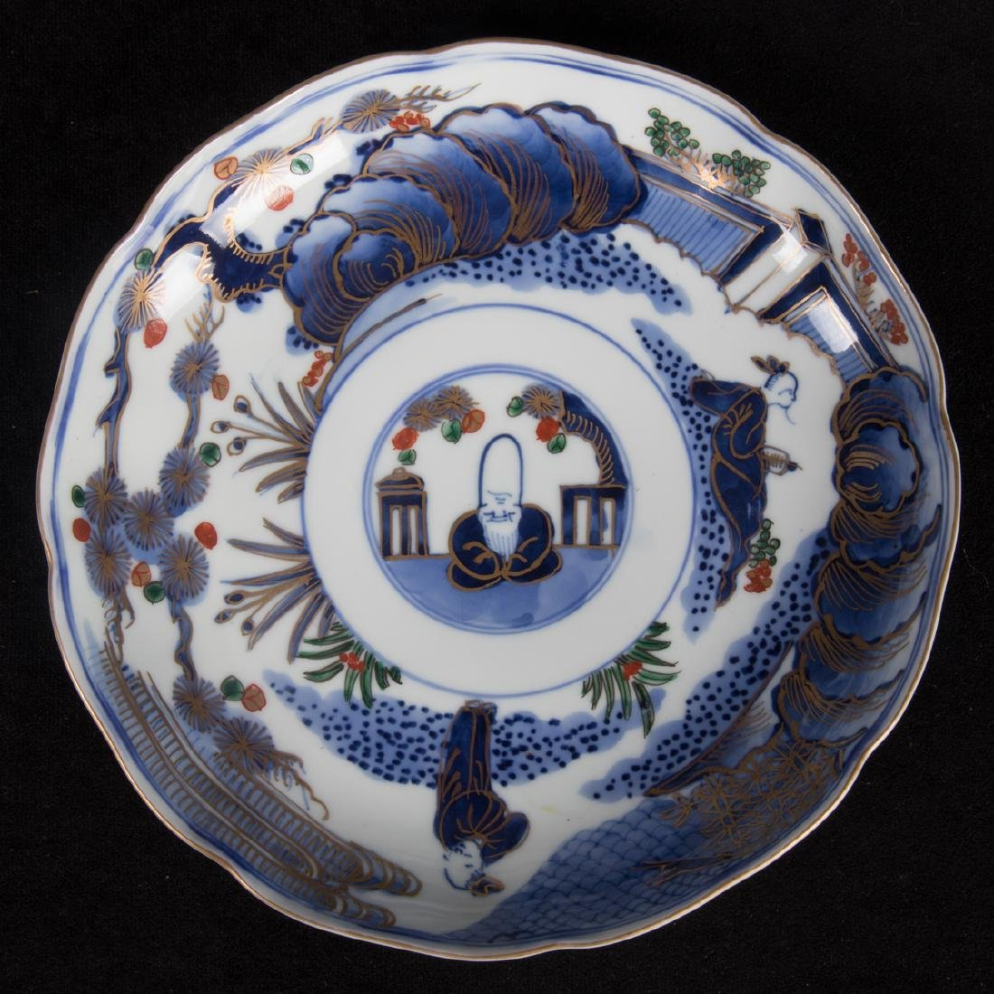 A Group of Five Chinese Blue and White Porcelain - 9