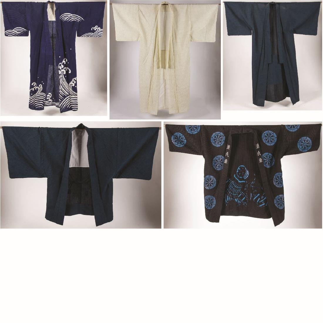 A Miscellaneous Collection of Japanese Robes, 20th
