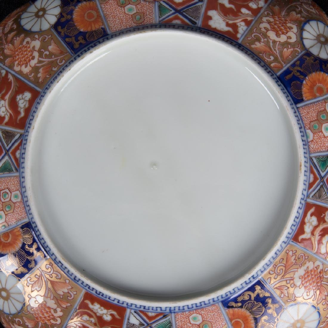 A Pair of Japanese Imari Porcelain Plates, Meiji - 2