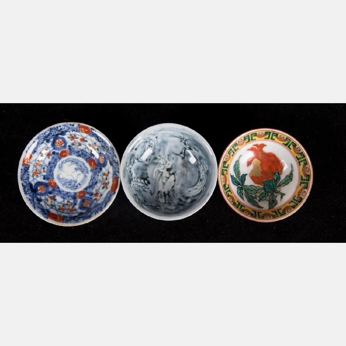 A Group of Seven Japanese Imari Porcelain Serving and - 8