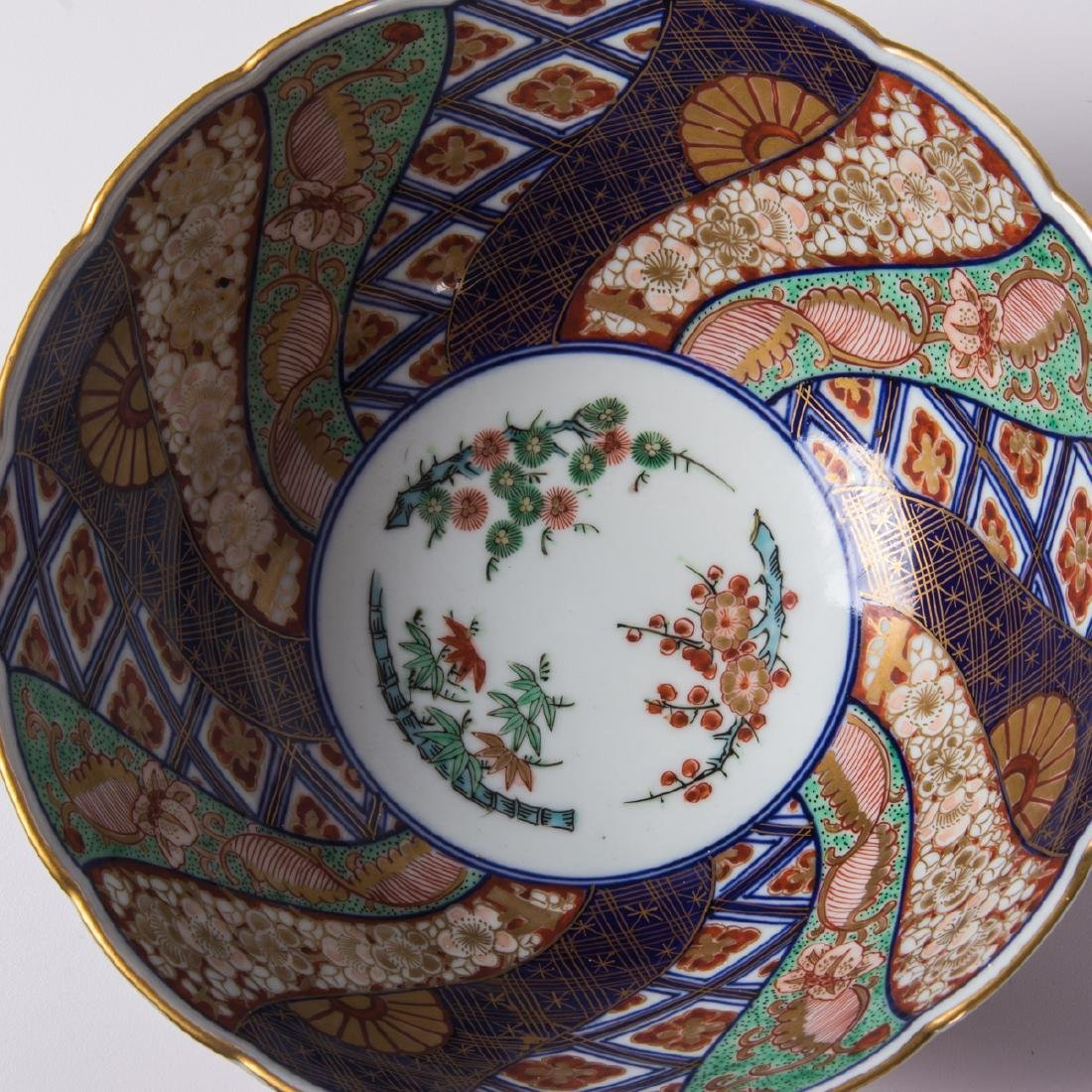 A Collection of Three Japanese Imari Bowls, 20th - 2