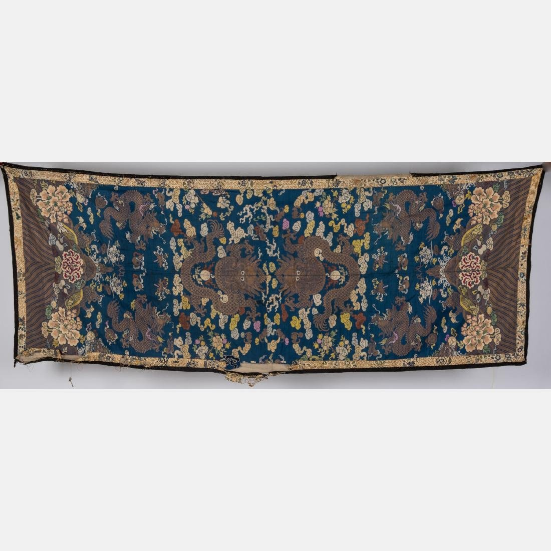 A Miscellaneous Collection of Asian Embroidered and - 3