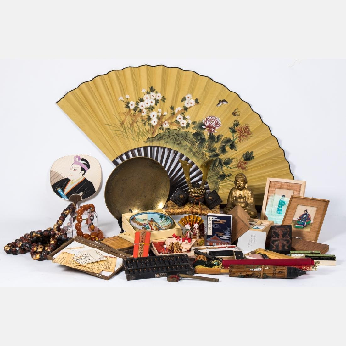 A Miscellaneous Collection of Asian Decorative Items,