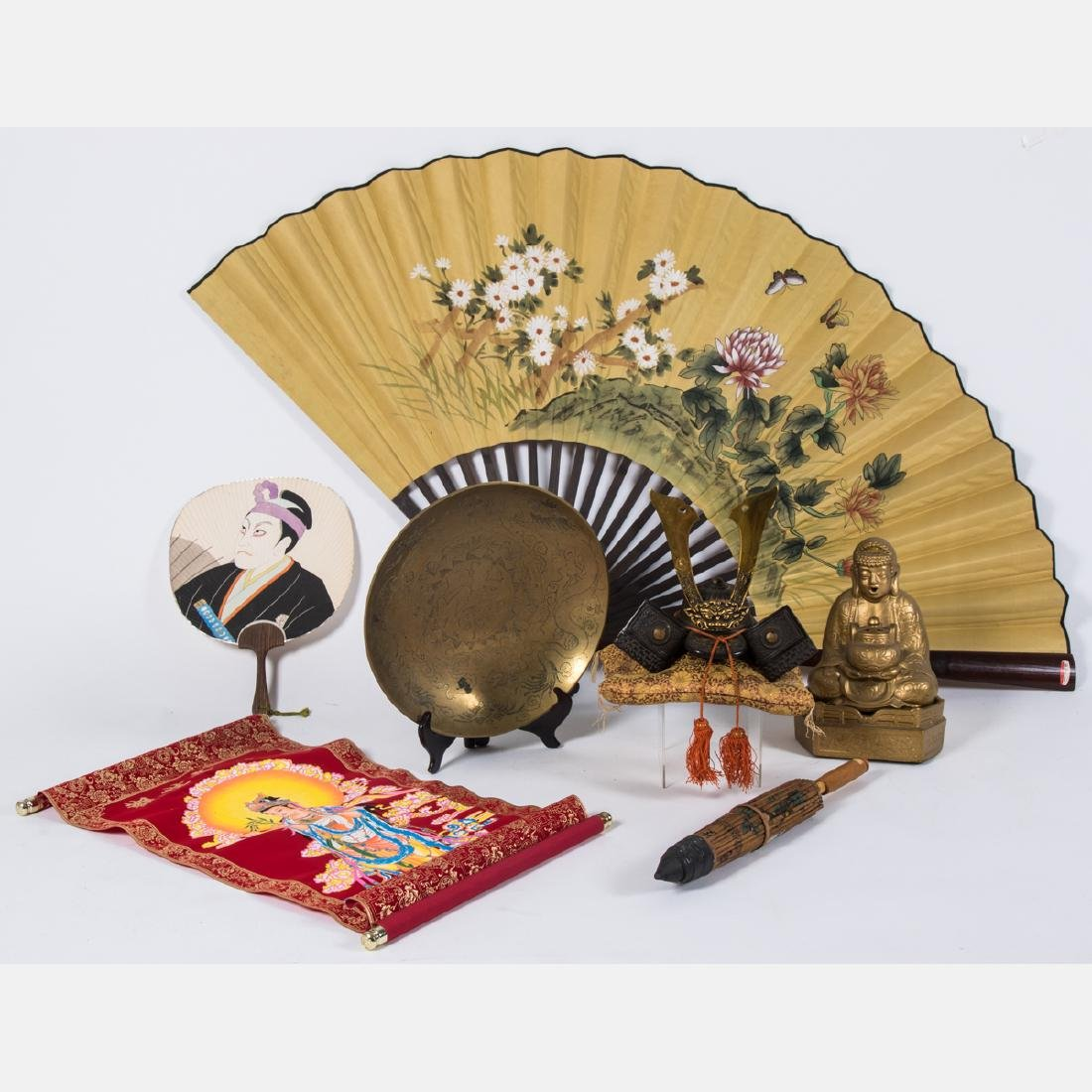 A Miscellaneous Collection of Asian Decorative Items, - 3