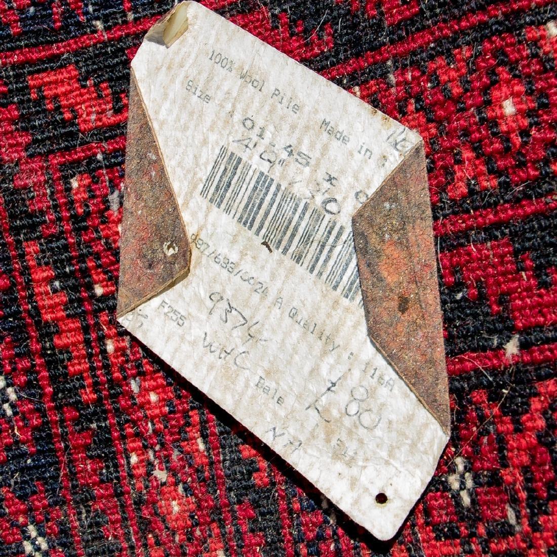 A Turkish Wool Rug, 20th Century. - 2