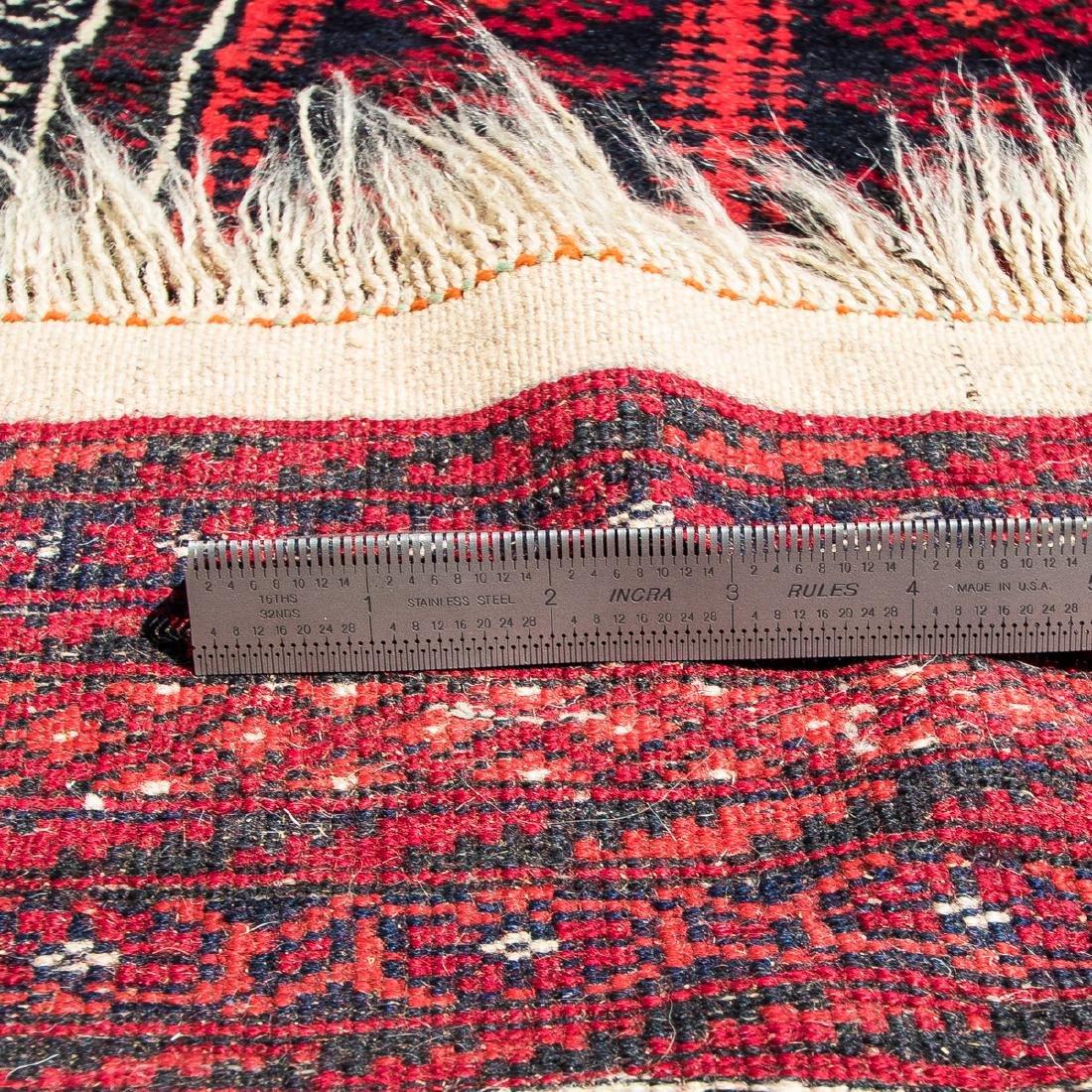 A Turkish Wool Rug, 20th Century. - 4