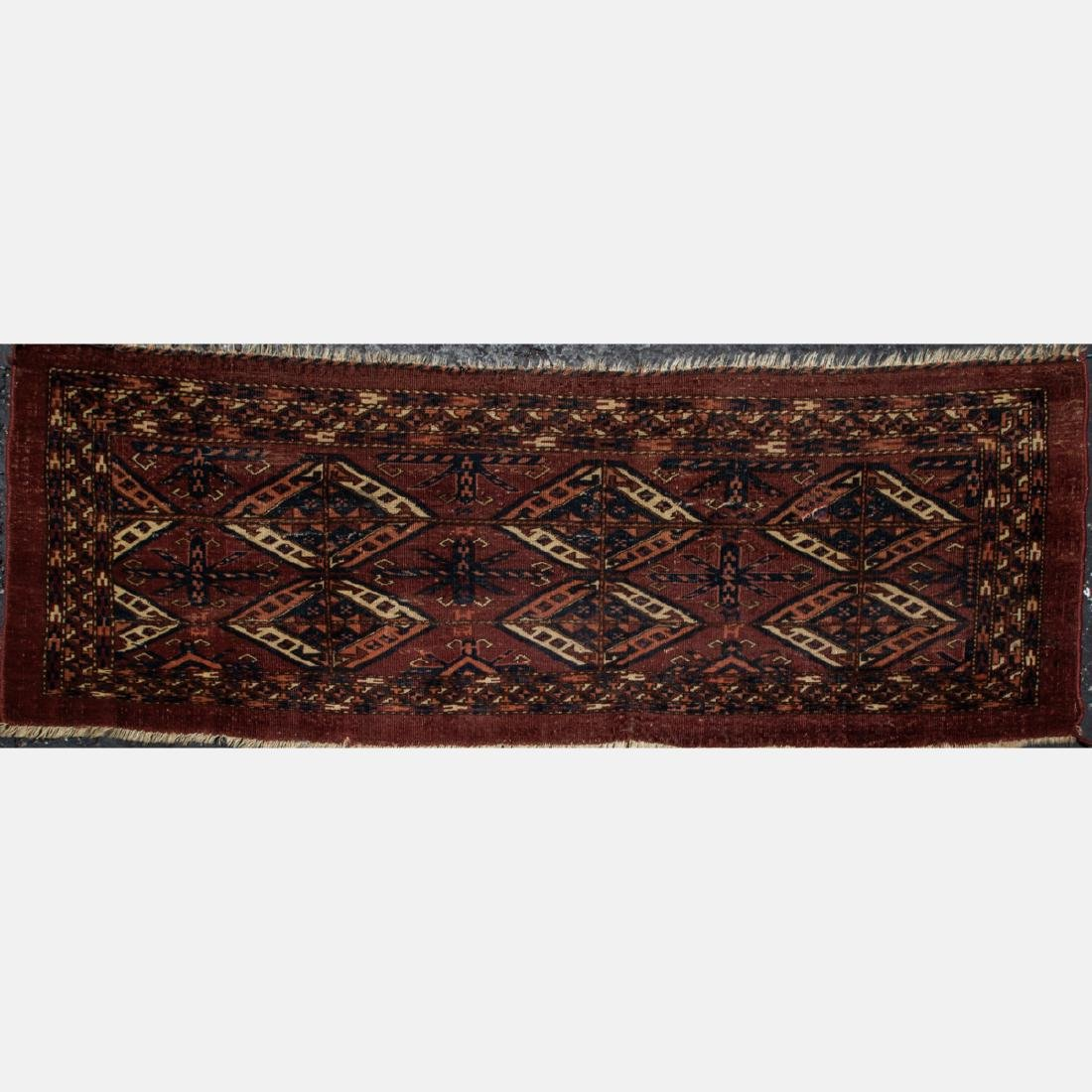 A Group of Three Turkish Wool Rugs, 20th Century. - 2