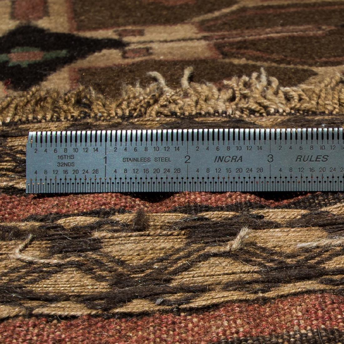 A Turkish Saddle Rug, 20th Century. - 2