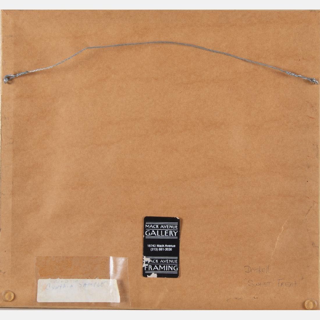 David Clyde Driskell (b. 1931) Sweet Treat, Mixed media - 3