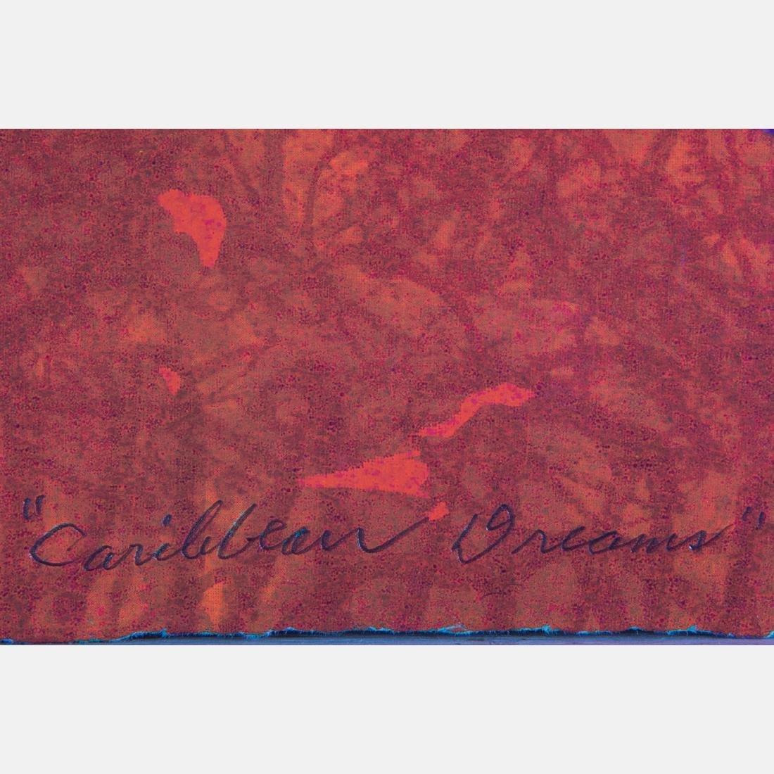 Evangeline (E.J.) Montgomery (b. 1933) Caribbean Dream, - 3