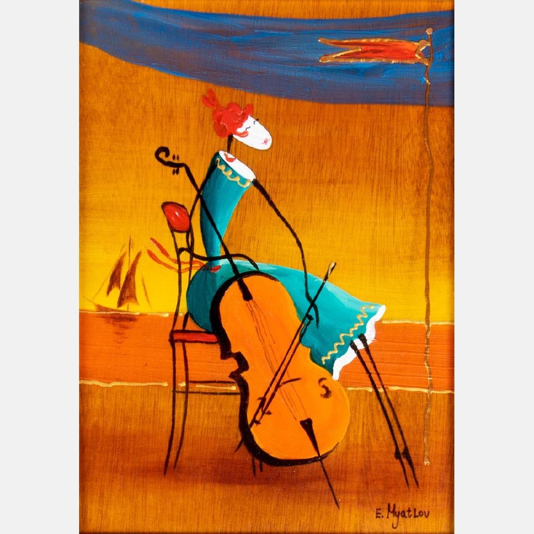 Ester Myatlov (b. 1976) 'Reaching for You', 'Wind - 3