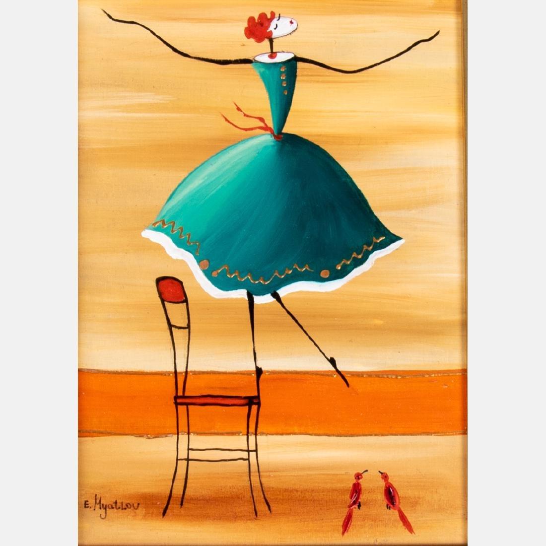Ester Myatlov (b. 1976) 'Reaching for You', 'Wind - 7