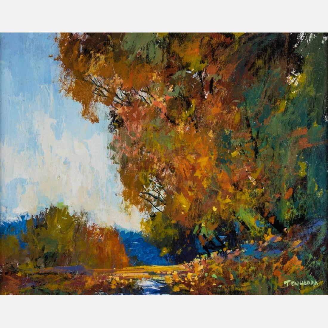 Michael Tienhaara (20th Century) Nature Sings, Oil on