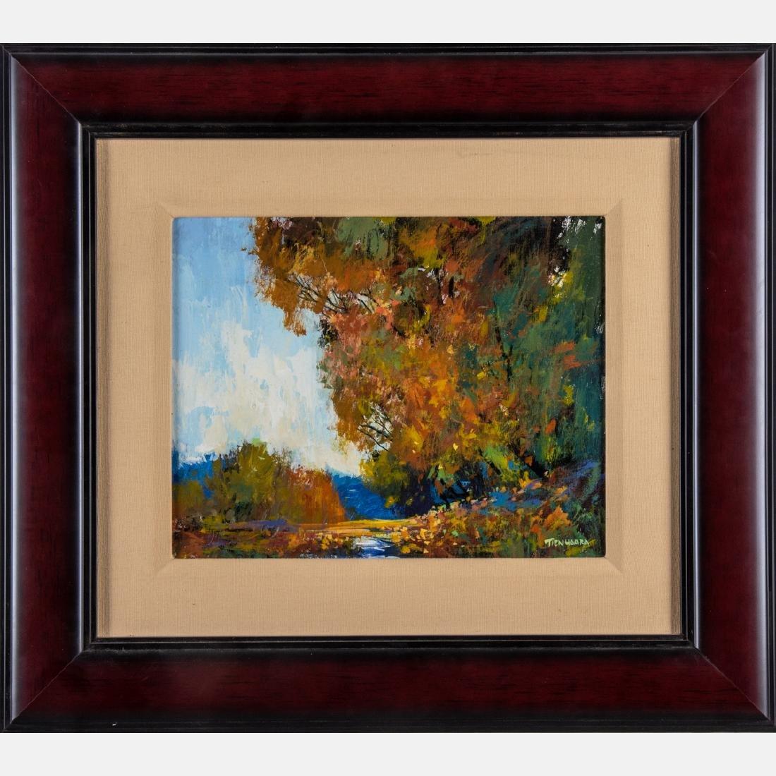 Michael Tienhaara (20th Century) Nature Sings, Oil on - 2