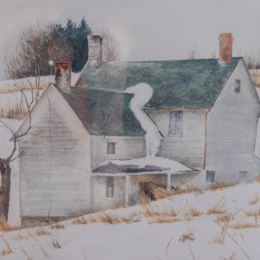 David Armstrong (1947-1998) Melting Off, Watercolor on - 4