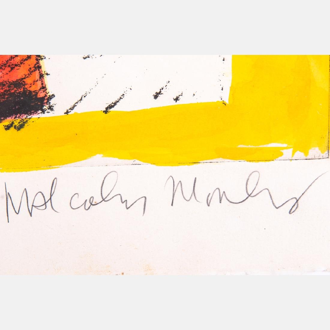 Malcolm Morley (b. 1931) Melba by Malcolm, Hand colored - 4