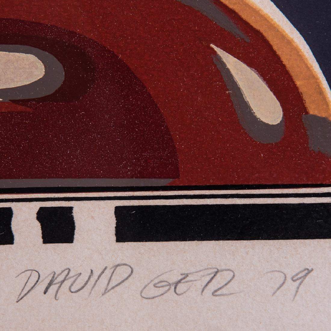 David Getz (b. 1940) Made to Cast, Silkscreen in - 5