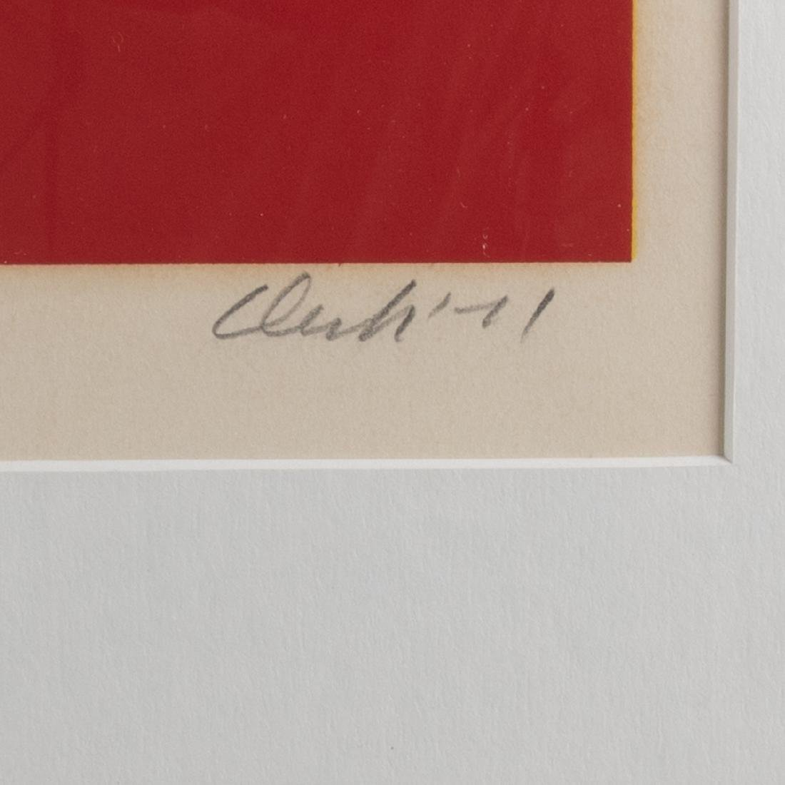 Pierre Clerk (b.1928) Untitled #3, 1971, Serigraph, - 3