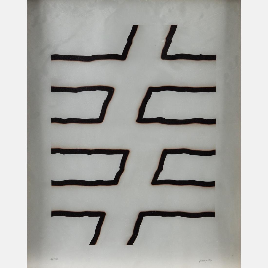 David Gentleman (b. 1930) Caepill, Serigraph, - 3