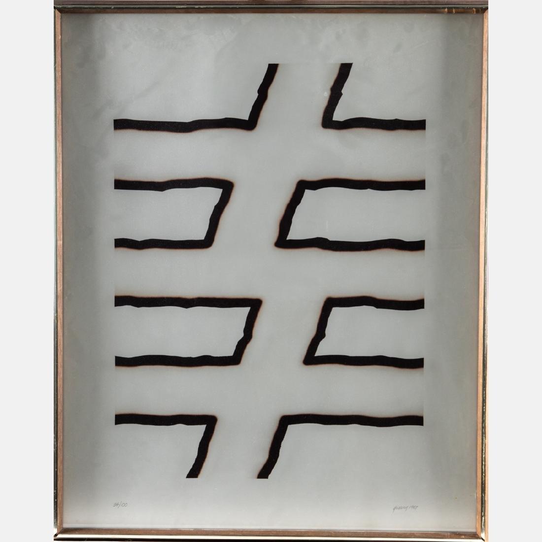 David Gentleman (b. 1930) Caepill, Serigraph, - 7