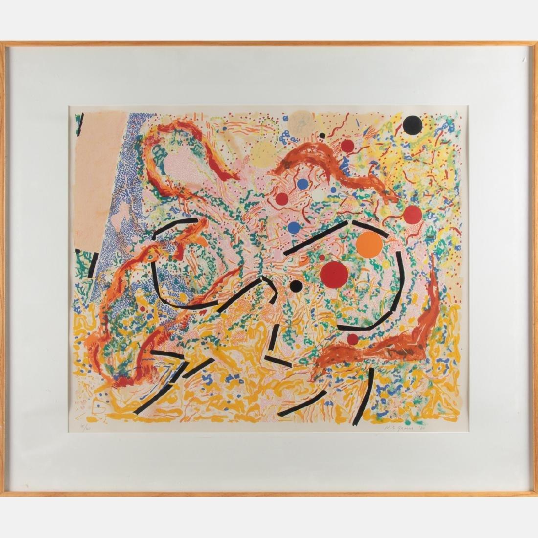 Nancy Stevenson Graves (1940-1995) Vertigo, 1980, - 2