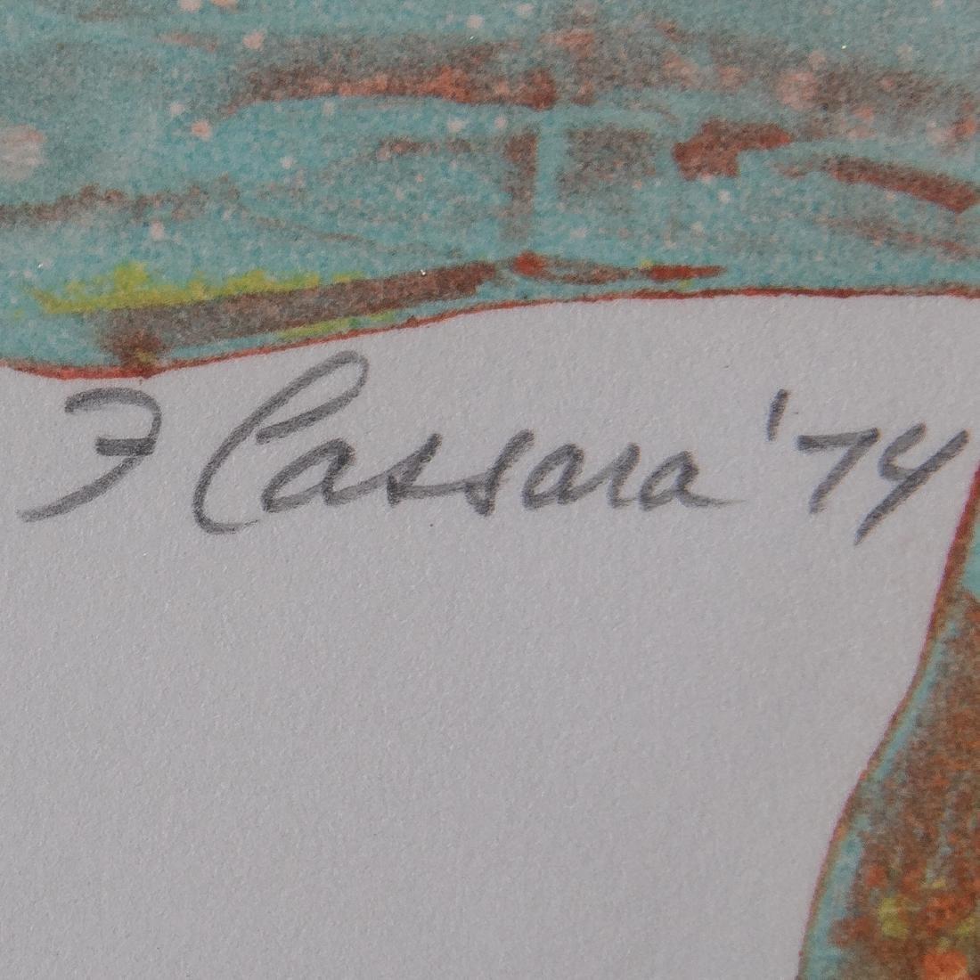 Frank Cassara (b. 1913) Painted Vessel, 1974, - 4