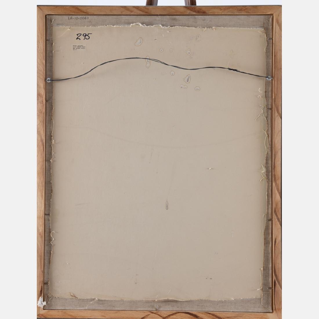 Frank Cassara (b. 1913) Painted Vessel, 1974, - 5