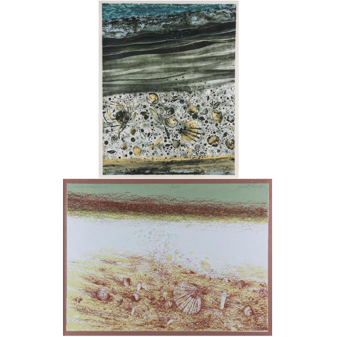 Robert Randall Burkert (b. 1930) 'Sea Edge' and 'Shore