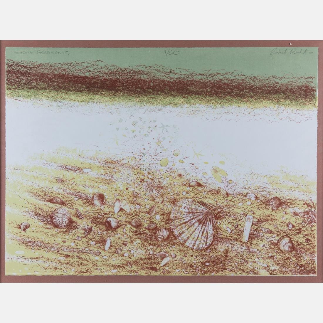 Robert Randall Burkert (b. 1930) 'Sea Edge' and 'Shore - 2