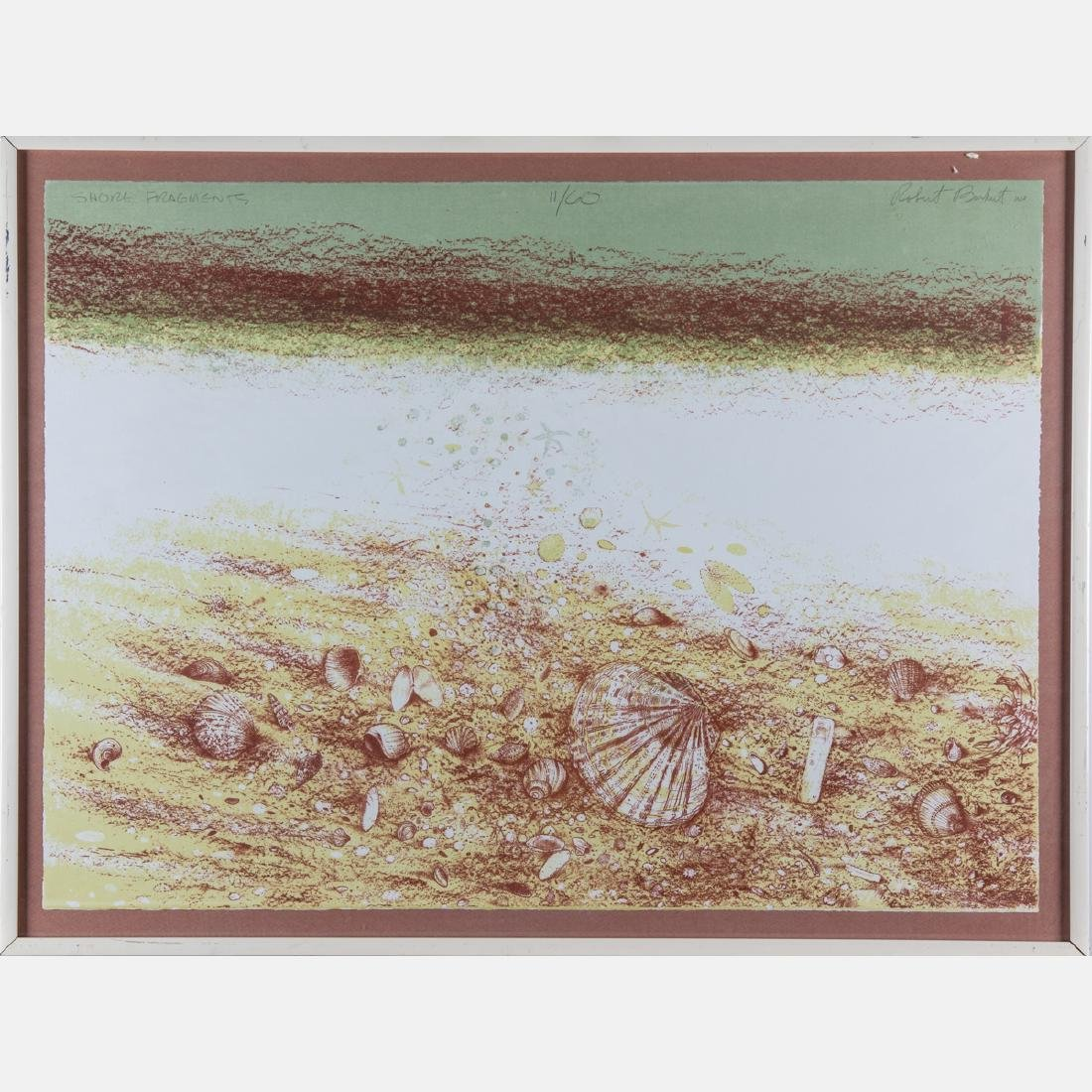 Robert Randall Burkert (b. 1930) 'Sea Edge' and 'Shore - 4