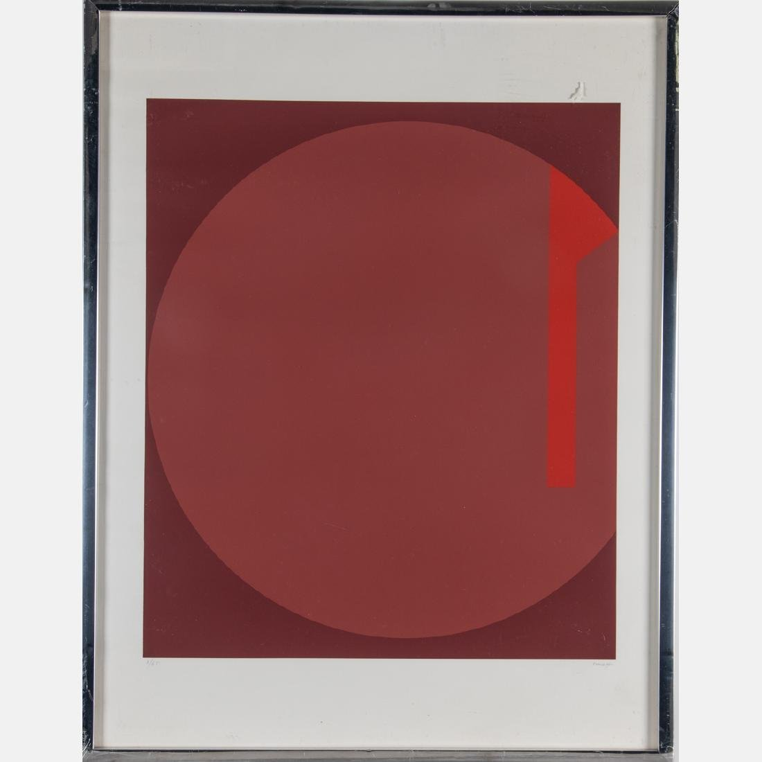 Fritz Ruoff (1906-1986) Untitled (Geometric Abstract), - 5
