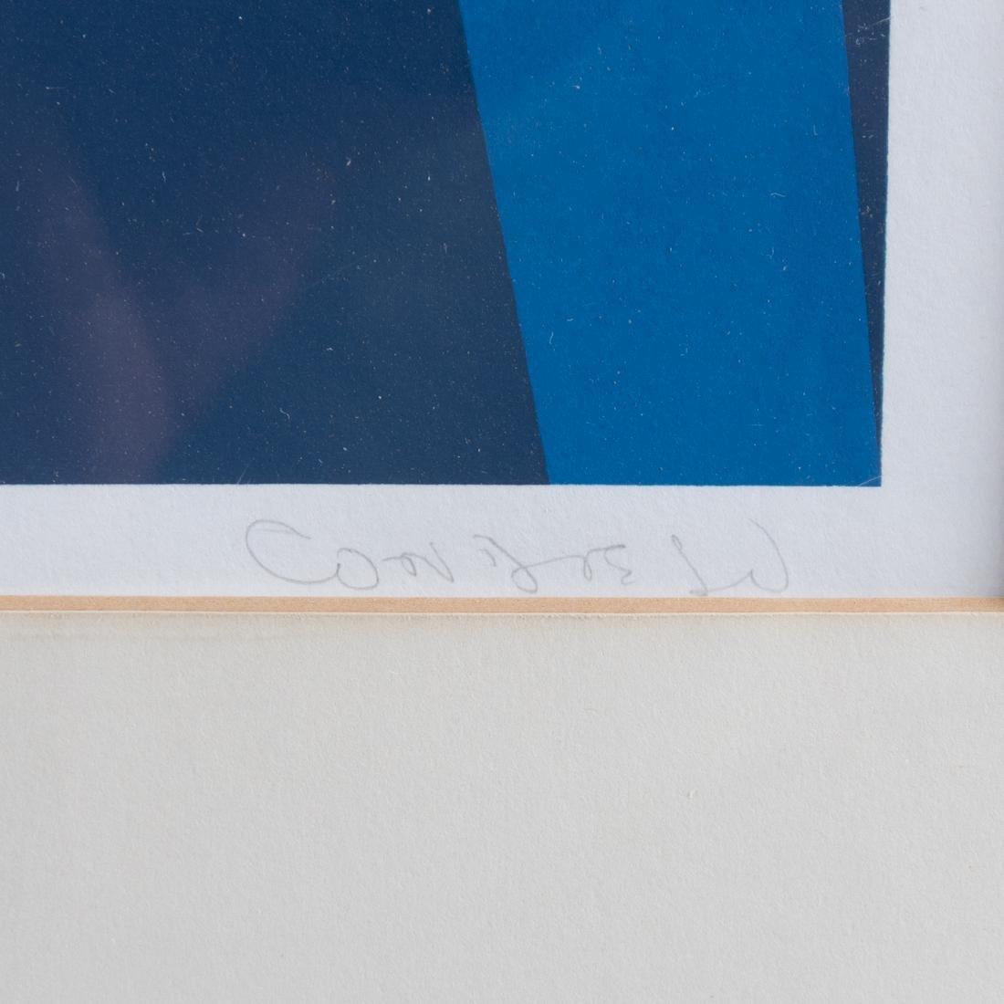 Orlando Condesso (20th Century) 'Green/Orange Slash' - 4