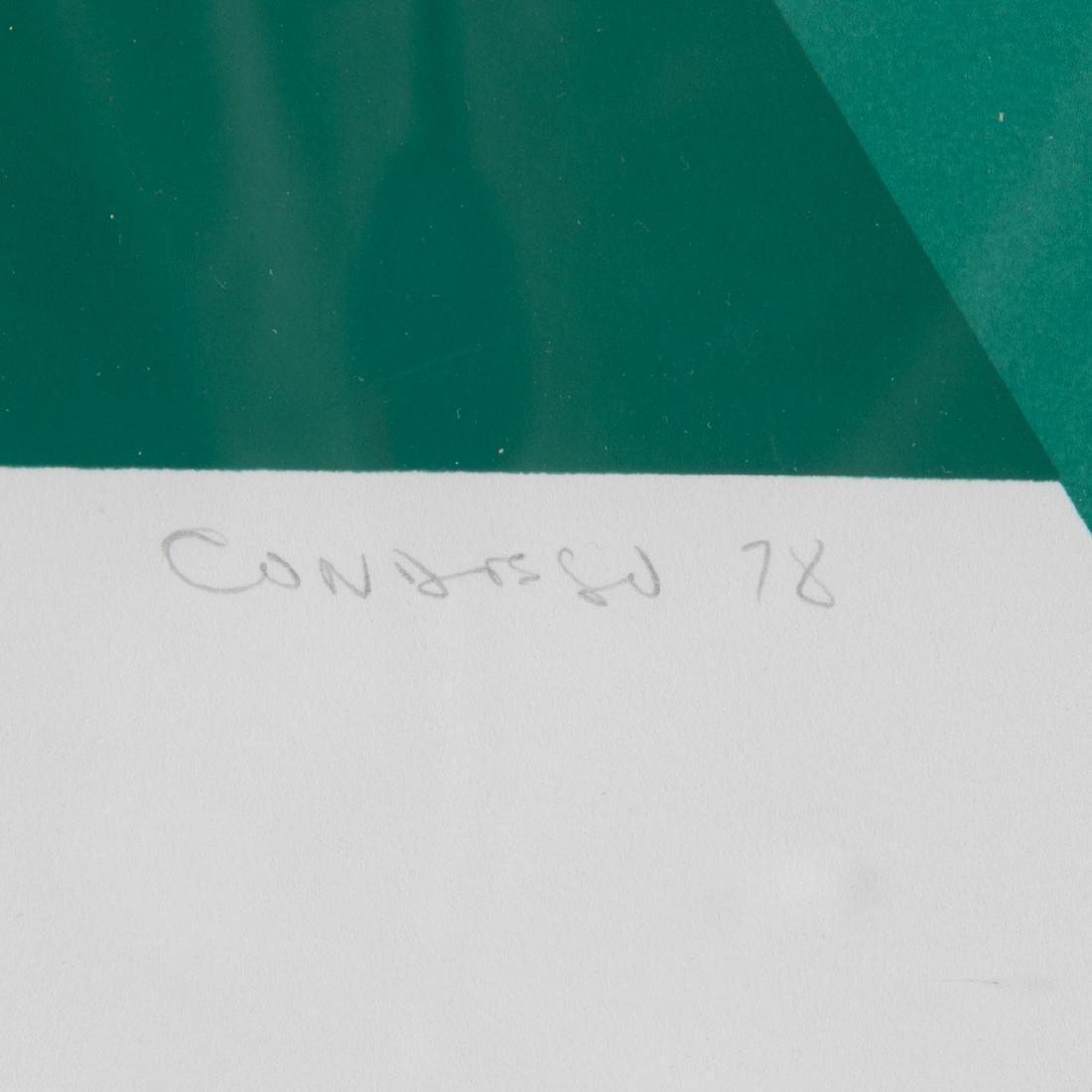 Orlando Condesso (20th Century) 'Green/Orange Slash' - 7