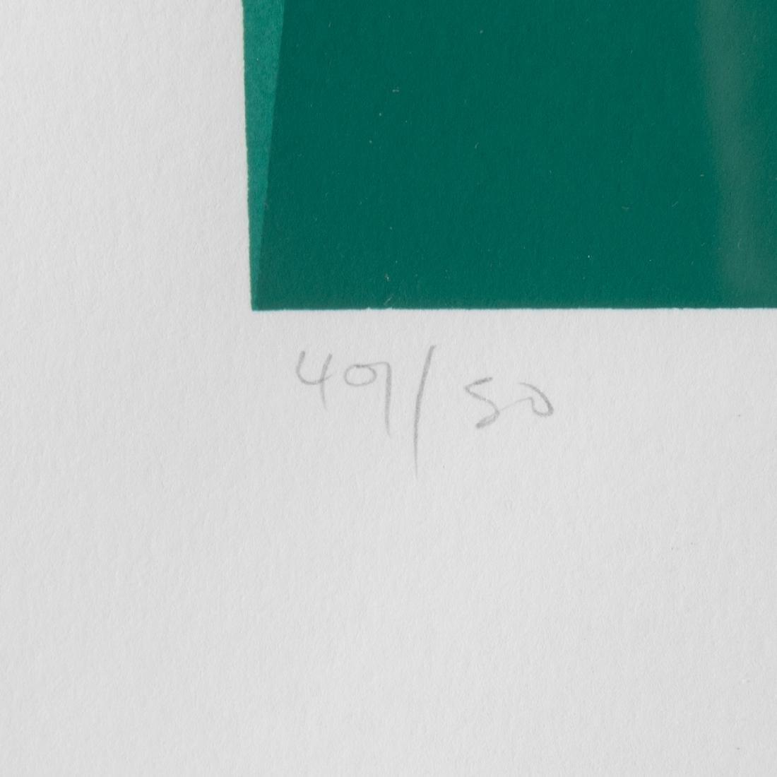 Orlando Condesso (20th Century) 'Green/Orange Slash' - 8