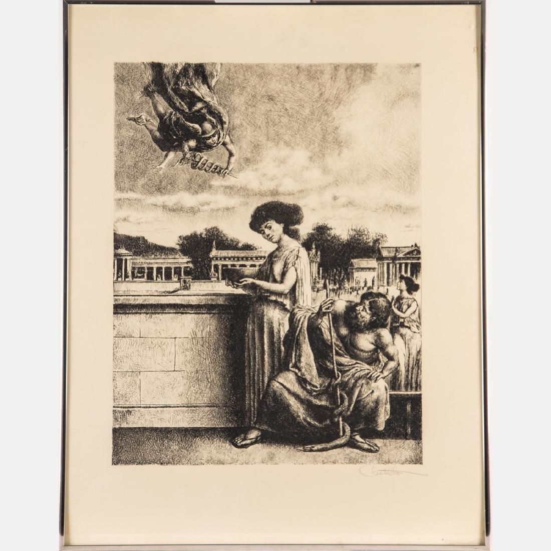 Federico Castellon (1914-1971) Hermes and Panacea, - 2